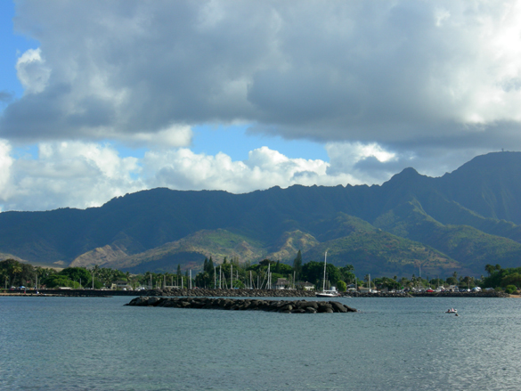 Haliewa harbor