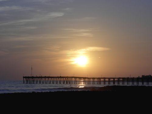 Pier sunset 3-19-08