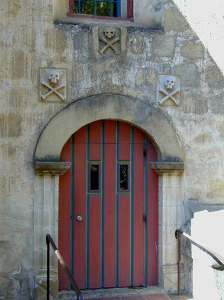 Graveyard doors